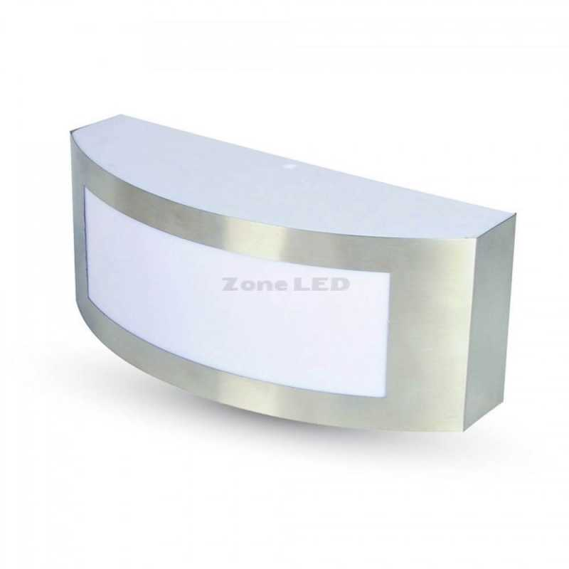 Lamp Wall E27 Body Stainless Line Pc Ip44 With And 1 Steel roedCBxW