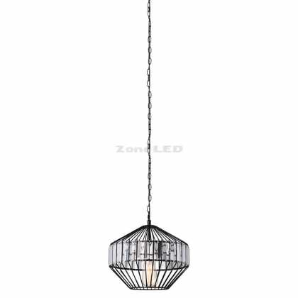 METAL W/CRYSTEL (MIDDLE) PENDANT LIGHT D:330*300MM