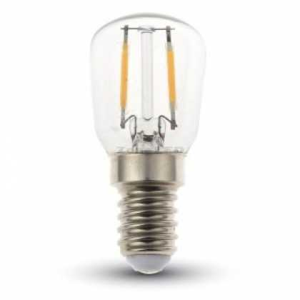 LED Bulb - 2W Filament E14 ST26 6000K - NEW