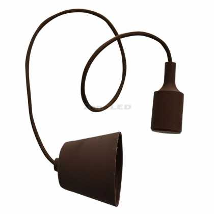 E27 Pendant Holder Brown