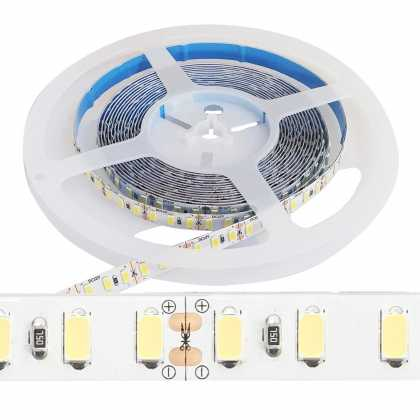 LED Streifen SMD5730 120 LED High Lumen 6000K IP20