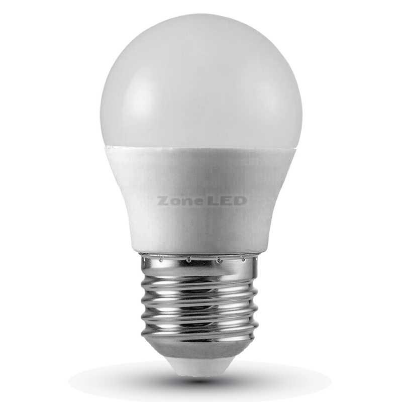 4.5W E27 G45 LED Lampe With Samsung Plastic Tropfen 6400K A++