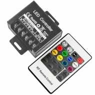 LED RGB CONTROLLER WITH 20 KEY RF REMOTE CONTROL-SMALL