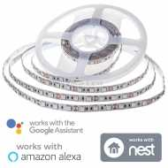 5050 60-10W-LED Strip Light Set RGB With WIFI Smart Controller Compatible with ALEXA and Google Home SMART
