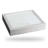18W LED Surface Panel Downlight Premium - Square 6000K